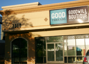 "First Goodwill ""Good Threads"" Boutique Now Open On Oracle"