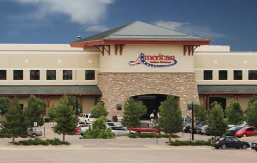 American Furniture Warehouse Showroom