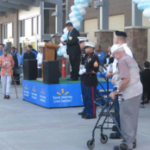 9-11 Remembrance at Walmart grand opening