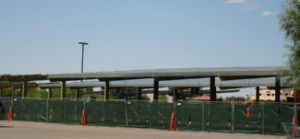 Attention Walmart Shoppers – Covered Parking Under-Construction