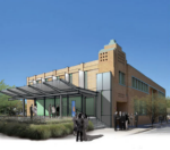 Rendering of new HQ for Mister Car Wash