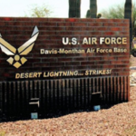 Davis Monthan Air Force Base Entry
