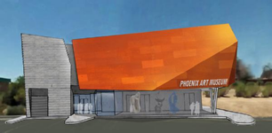 Rendering of Phoenix Art Museum in Dowtown Carefree