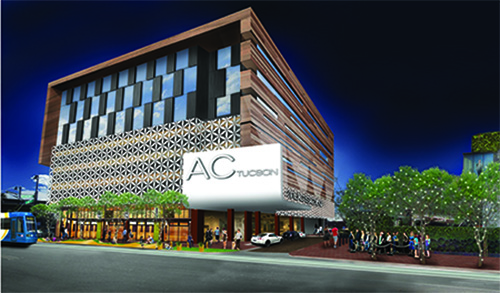 The AC by Marriott Downtown Tucson rendering
