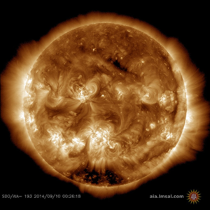 STORM WARNING: EARTH-DIRECTED X-FLARE AND CMEs