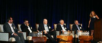 (l to r) Michael Iles-Cremieux, Taber Anderson, Sean Walters, David Mehl, Ryan Huffman, and Linda Morales