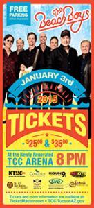 'Fun, Fun, Fun' Beach Boys Concert & Other Rio Nuevo Business