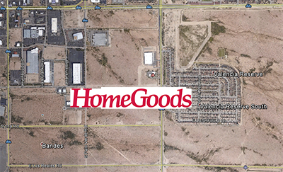 Creative Brokerage Brings Homegoods Tucson Distribution