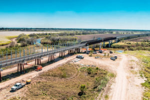 First US-Mexico Rail Bridge in More Than a Century Almost Complete in Texas