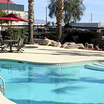 Red Roof Inn Pool area, 3704 E Irvington Rd., Tucson (courtesy photo)