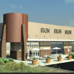 Rendering of new pad building at 7280 E Broadway Blvd, Tucson