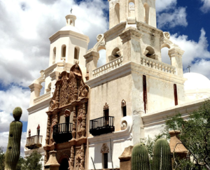 Mission San Xavier Work begins on East Tower