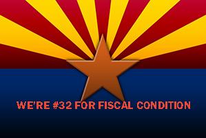 Arizona Ranks #32 Among States for Fiscal Condition