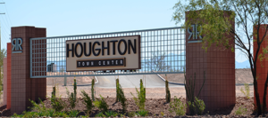 Houghton-Town center Sign-450x200