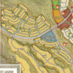 Sycamore Canyon site plan showing new school site (Click to enlarge)