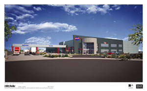 LGE Design Build Breaks Ground on 60,000 SF Utility Trailer AZ Headquarters