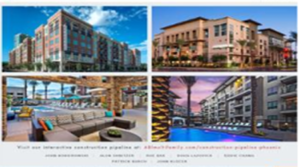 ABI Multifamily Releases Year End 2015 Multifamily Construction Pipeline Report for the Phoenix MSA