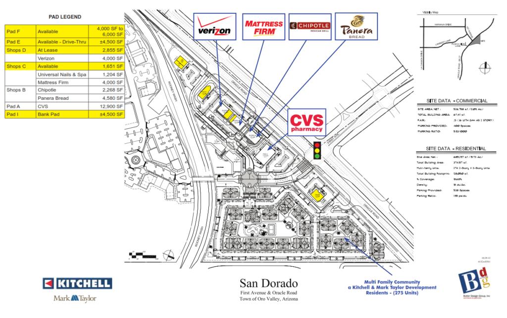 San Dorado Site Plan Updated