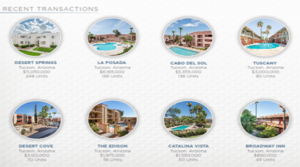 New Apts. Sales of $8.1M Bring Marcus & Millichap to 47% of Tucson Market Share Year-to-date