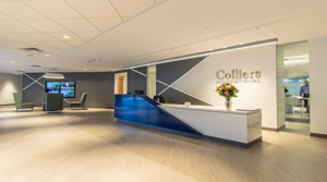 Colliers Renovates Office to Create Collaborative Environment