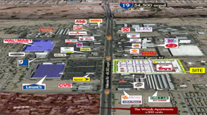 Two Pads Sell for Construction at New Fry's Center on Valencia