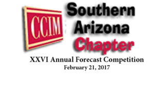 XXVI Annual CCIM Forecast Challengers Announced for 2017 Competition