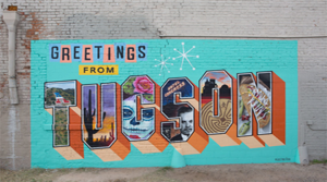 Thanks for Visiting Tucson Greeting Tour Artists