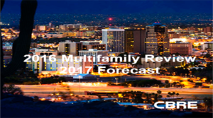 Tucson Metro Multifamily Market Report from CBRE