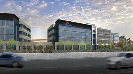 Rendering Of Freedom Financial Network Buildings (courtesy Photo)