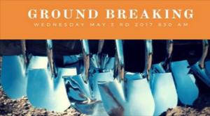 """Silver Shovel"" Groundbreaking of Crismon Gateway Village May 3rd"