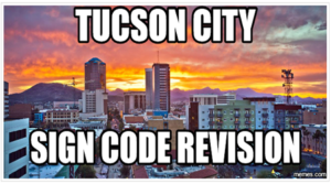 Tucson Business Concerns Need To Be Heard in City Sign Code Revisions