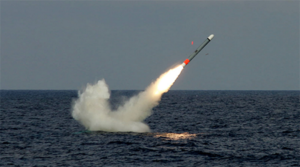 U.S. Navy fires first Tomahawk cruise missiles from new submarine payload tubes