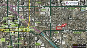 The Mark at Tucson Student Housing Land Sale Closes at Broadway & Park for $4.6 Million