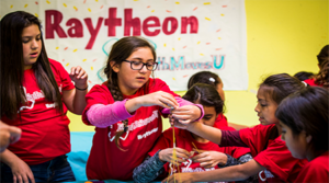 Boys & Girls Clubs of America and Raytheon to Open Four New STEM Centers of Innovation for Military Families