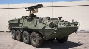 Raytheon offers Stryker-mounted Stinger missile for U.S. Army mobile air defense