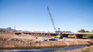 Ina Road bridge work results in change to effluent discharge