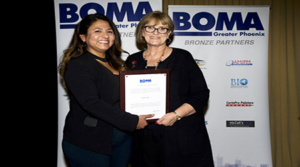 Property management industry leader Karen Piper receives  BOMA Greater Phoenix Lifetime Achievement Award