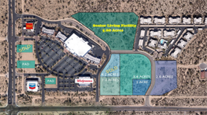 New Dove Mountain Senior Living Facility Site Sells for $1.7 Million
