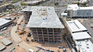 Hines' Offices at Chandler Viridian Tops Out
