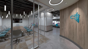 Barrow AI suite, CTCA suites, senior living facility, Arizona Care Network highlight projects by Iconic Design Studio