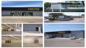 Hertz Car Rental Tucson Grand Opening leaves 2,860 SF Adjacent Co-tenant Space Available