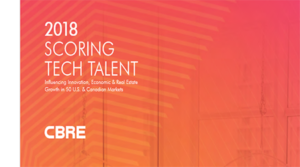 "Phoenix Climbs to #15 on CBRE's Annual ""Scoring Tech Talent"" Report"