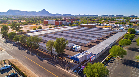 Continental Ranch Self Storage 5650 W Coca Cola Pl. Marana AZ & NAI represents seller in $7.15M acquisition of Tucson self-storage ...