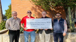 Terracon's Tucson office presents $10,000 grant to UA College of Engineering