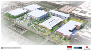 Sundt Starts Work on Student Success District