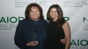 Longtime industry influencer Sharon Harper honored with Award of Excellence at 2018 Best of NAIOP Arizona