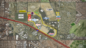 KFC Closes on Tucson Marketplace at the Bridges Site