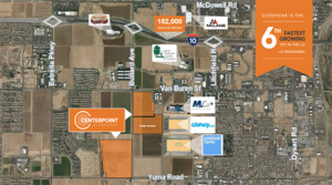Kent Circle Partners Sell Prime Light Industrial Land in Goodyear to Datacenter