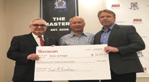 Engineering consulting firm Terracon raises $10,000  through its golf tournament for Kids at Hope