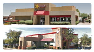 Two Carl's Jr. Properties Sold for $3.4 Million